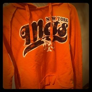 NY Mets hooded sweatshirt
